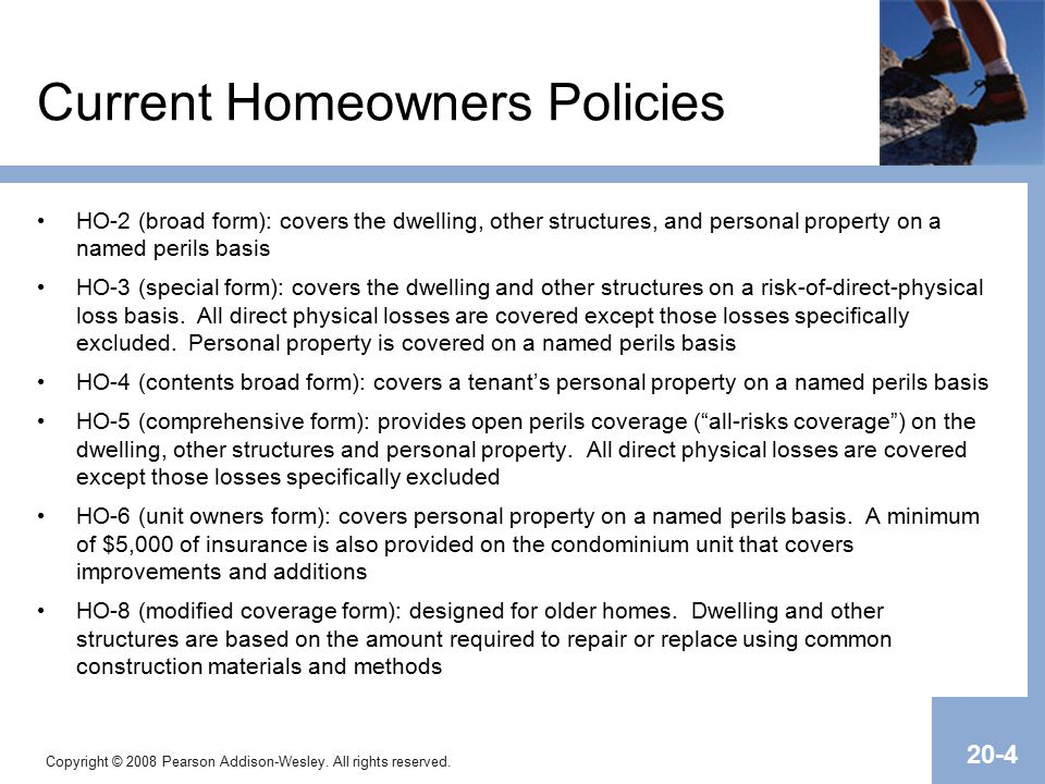 Chapter 20 Homeowners Insurance, Section I. - ppt download