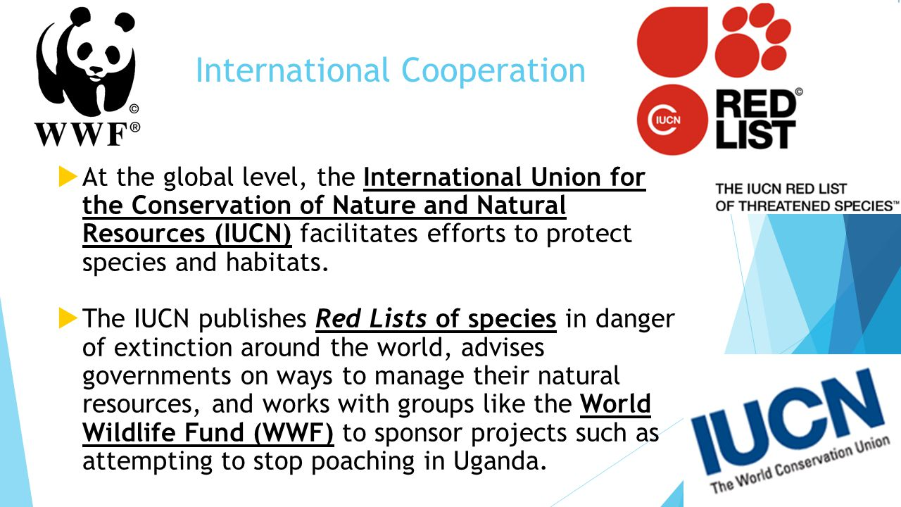 International Union for Conservation of Nature and Natural ...