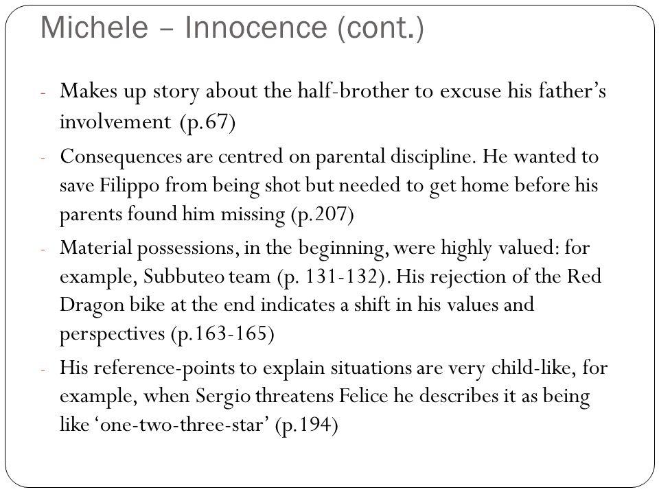 Michele – Innocence (cont.)