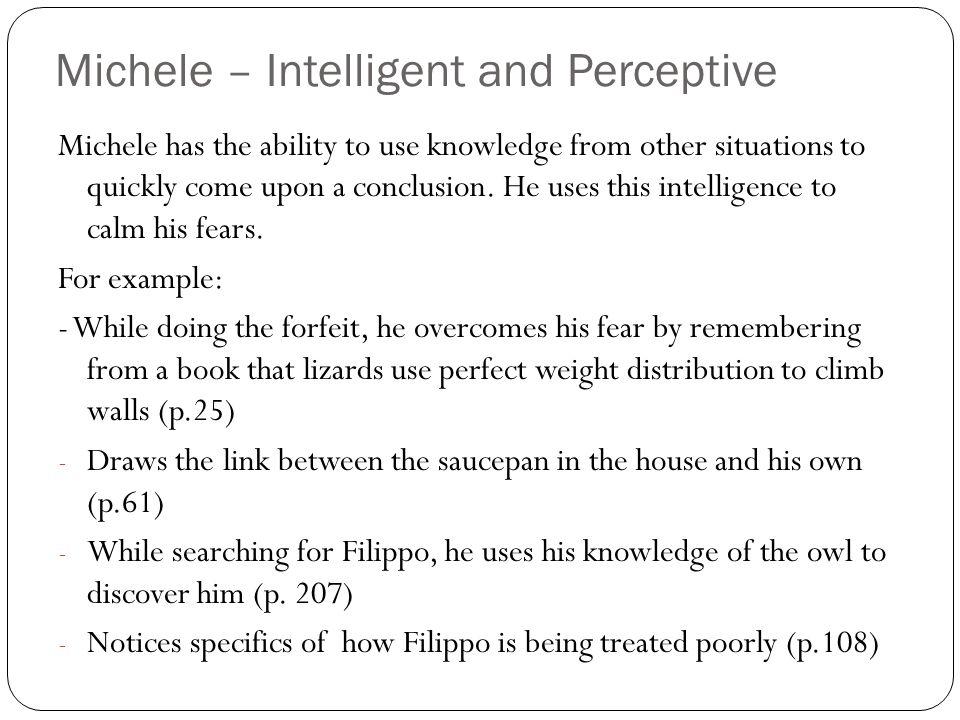 Michele – Intelligent and Perceptive