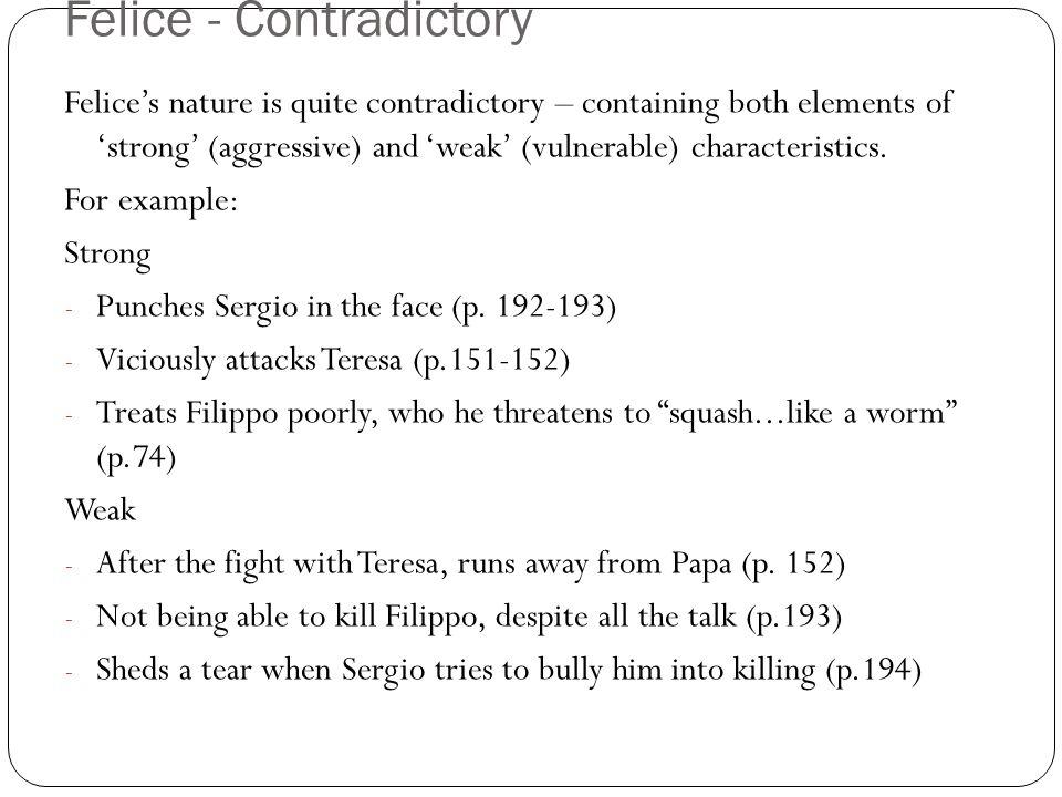 Felice - Contradictory