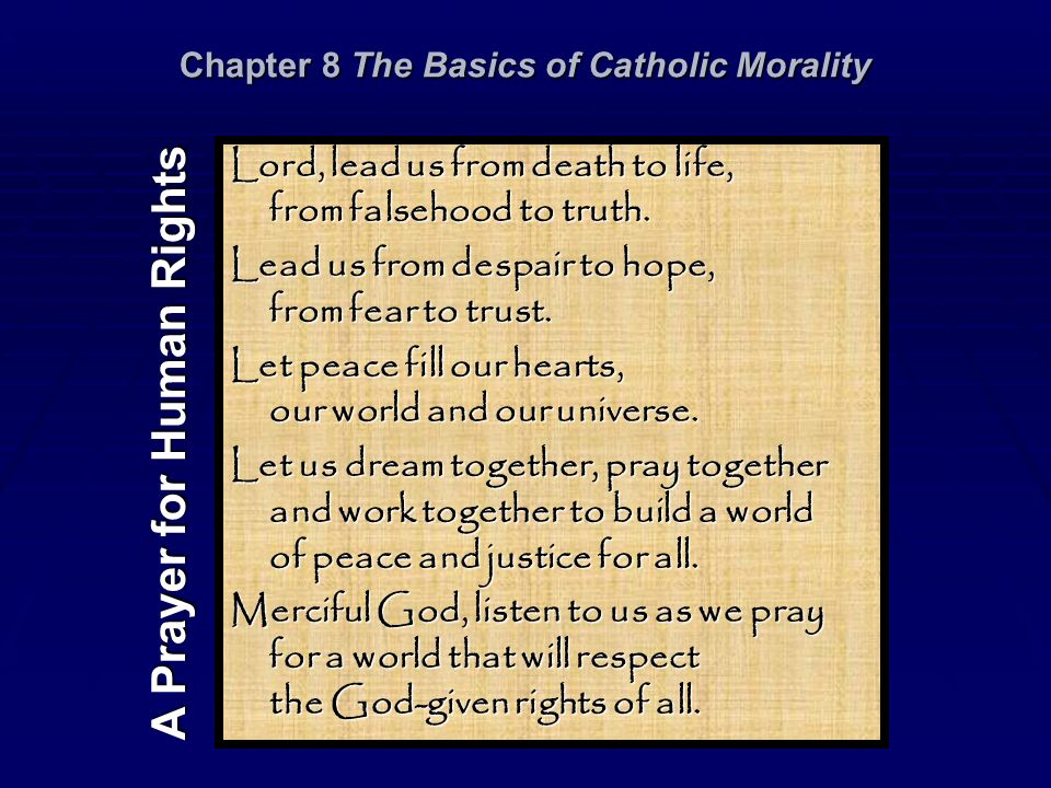 principles for a catholic morality Articles on the traditional catholic faith learn about the traditional catholic faith by browsing through articles on traditional catholic doctrine.