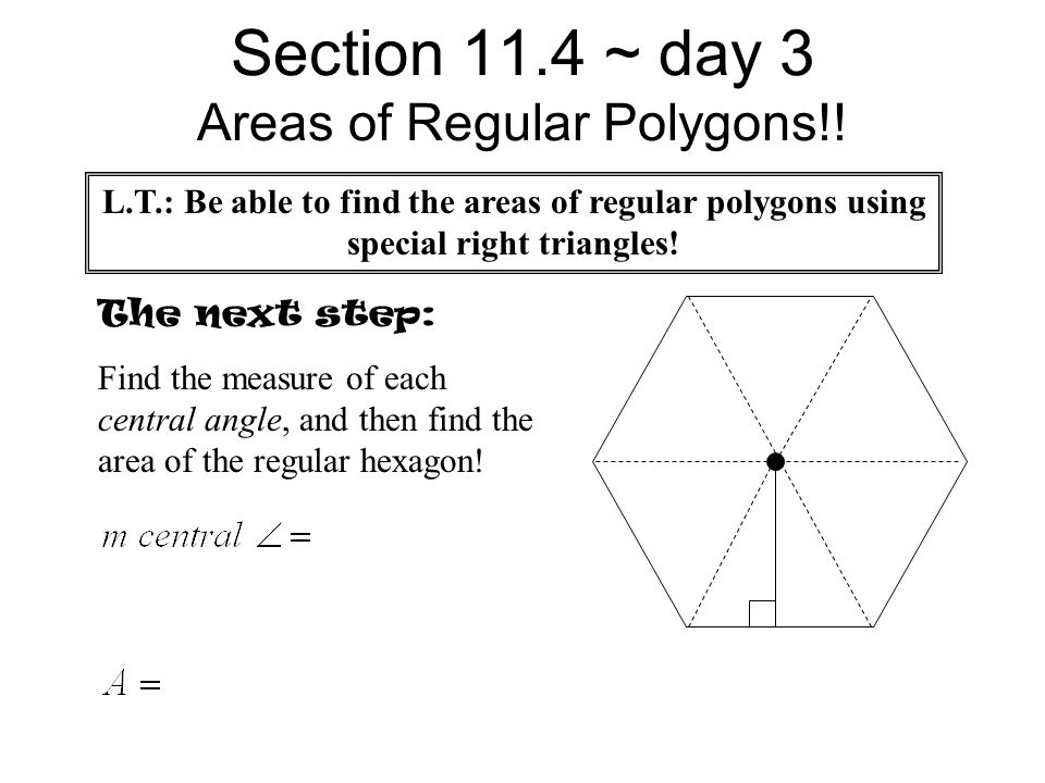 Worksheet 112 Quiz Start 114 notes 114 Day Day 2 ppt download – Area of Regular Polygons Worksheet