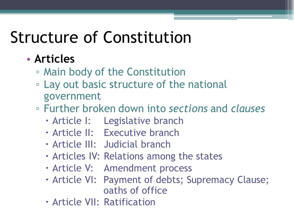 essential structure of the federal constitution essay Timeline of the essential federalist papers 1787 october  to the federalists who supported the constitution as well as his essential  structure, and powers in.