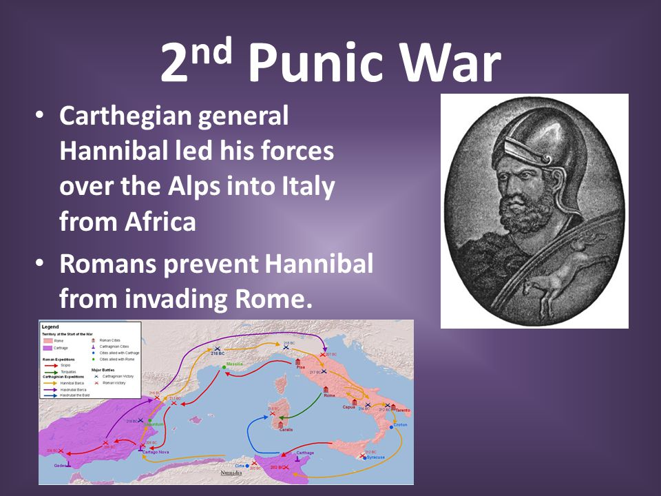 What were the causes of the Second Punic War