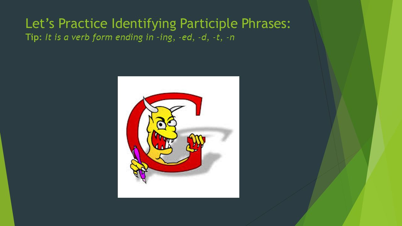 100+ [ Identifying Participles Worksheet ] : Showme ...
