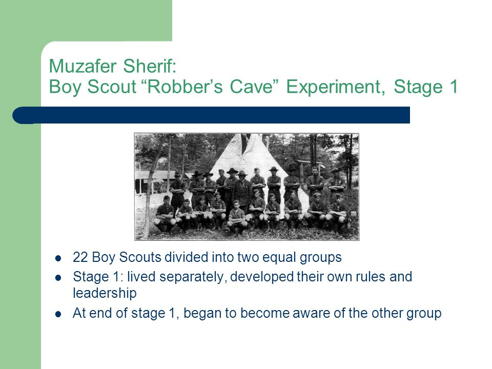 robbers cave experiment a critical review