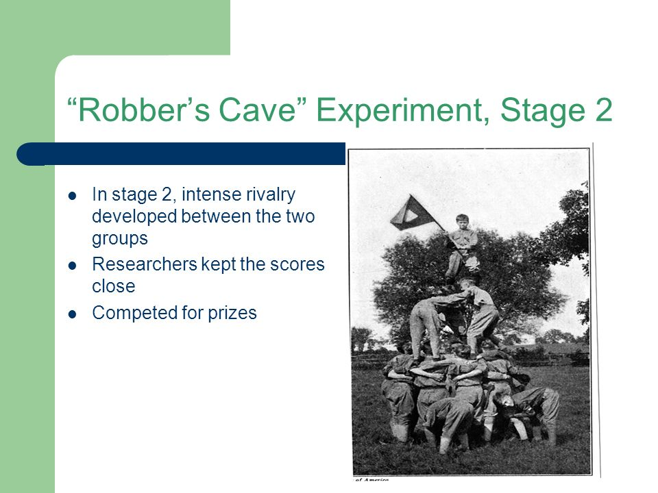 robbers cave experiment a critical review The robbers cave experiment has 28 ratings and 1 review jenny said: an interesting study, but a summary would have been more fun to read or wait for th.