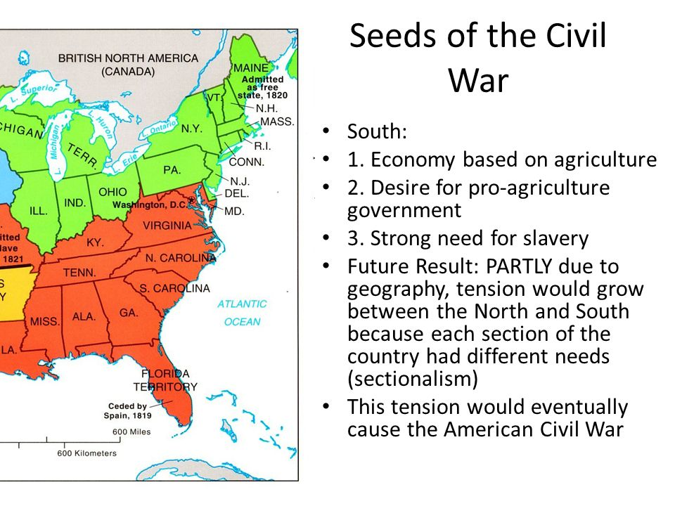 analyzing the causes and eventual outcome of the civil war Kids learn about the many causes of the civil war including slavery, states'  a  divide between the north and the south that eventually caused the civil war.