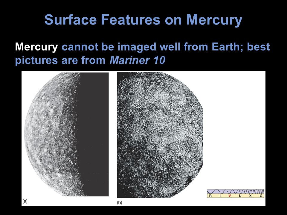 Surface Features on Mercury