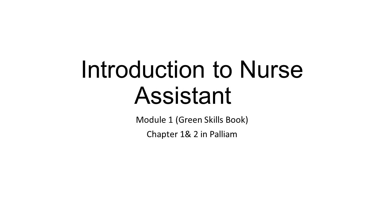 module title introduction to nursing essay Fundamental of nursing assessment criteria: assessment guidelines and module learning outcomes essay structure 1 introduction (150 words.