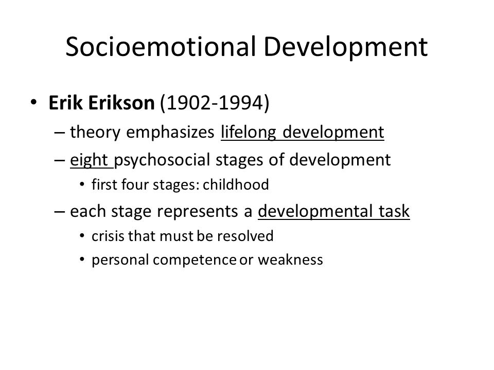 socioemotional development What is social & emotional development as parents, we all want our children to be healthy and happy it's easier to tell if your child is development physically, but do you know if your child is developing the appropriate social and emotional skills.