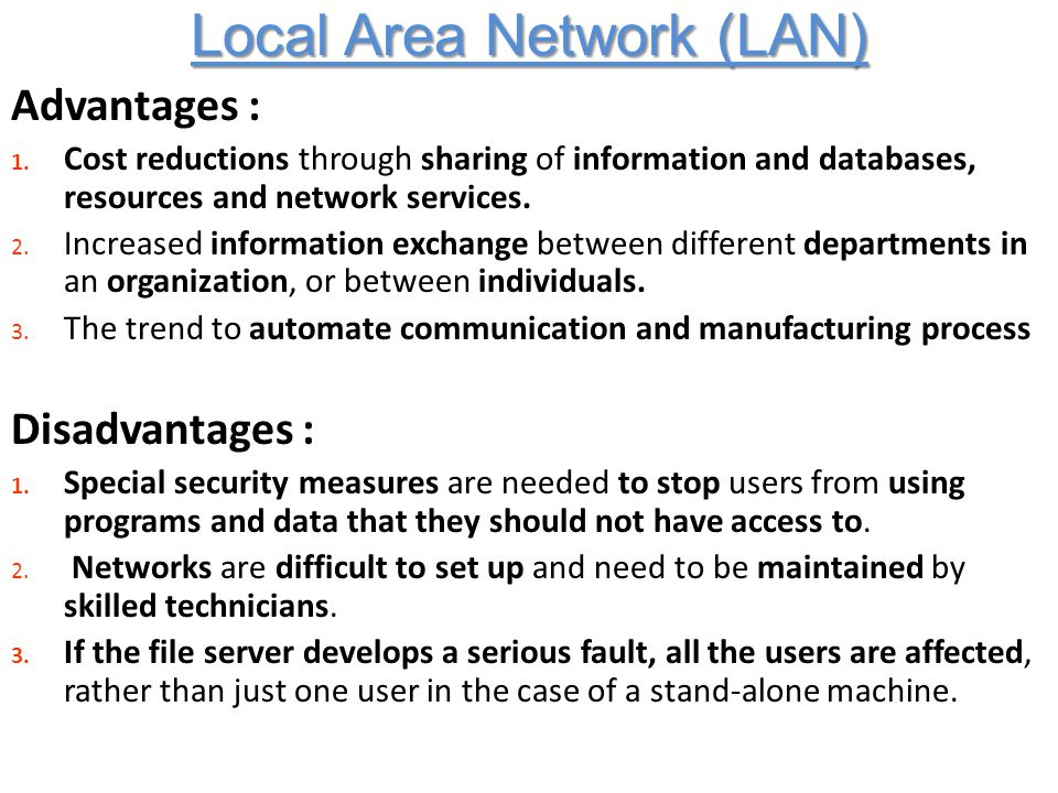 advantages and disadvantages metropolitan area network map What are the advantages and disadvantages of metropolitan area networks  what are the advantages and disadvantages of mesh network and how can we use it.