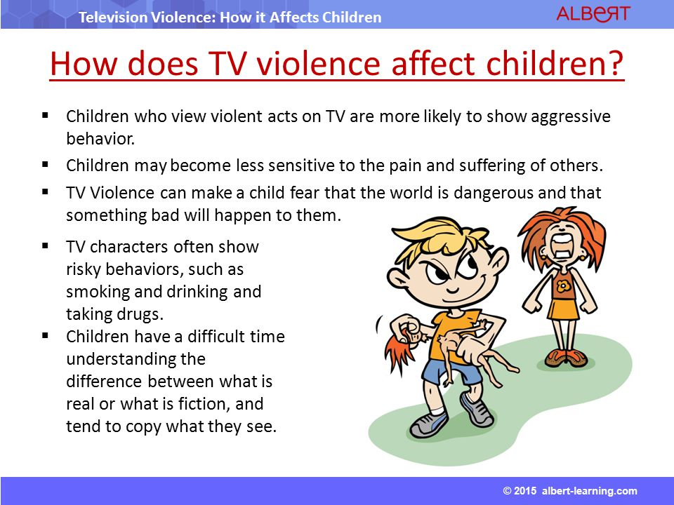Essay/Term paper: The effects of television violence on children