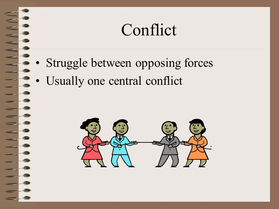 the presentation of the conflict between He key issue in dealing with team conflict is for the team conflict management in teams the end result is a building up of resentment between team.