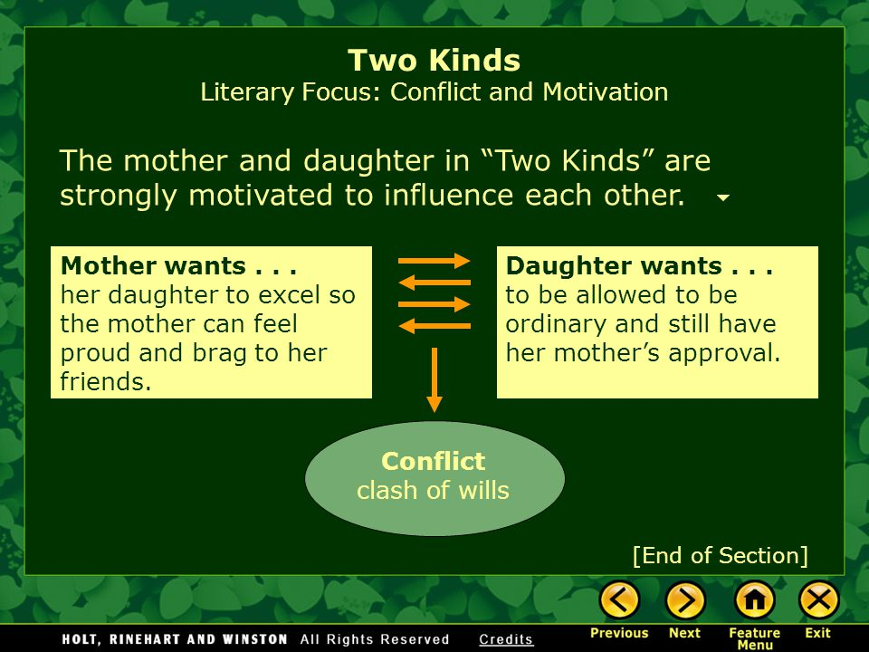 two kinds by amy tan introducing the story ppt  8 two