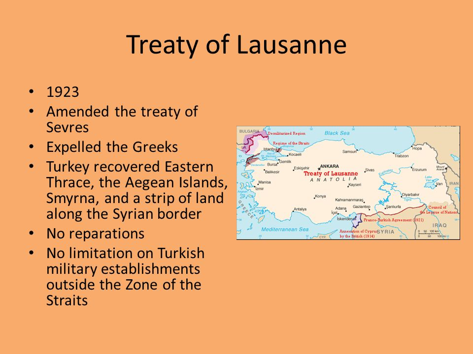 Paris Peace Settlements Ppt Download - Greece in the treaty of sevres