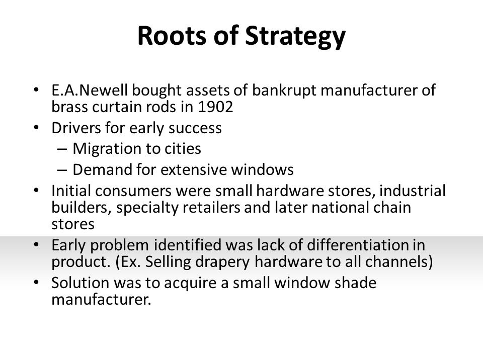 newell company corporate strategy
