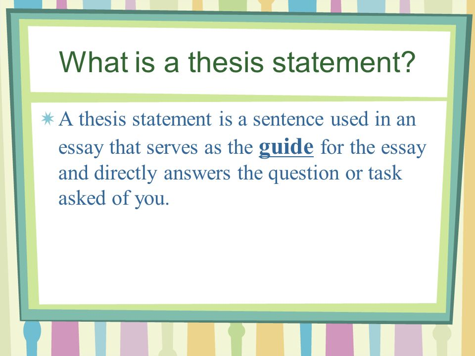 Proposal For An Essay  What  Healthy Diet Essay also High School Essays Examples Writing Thesis Statements  Ppt Video Online Download How To Write A Thesis For A Persuasive Essay