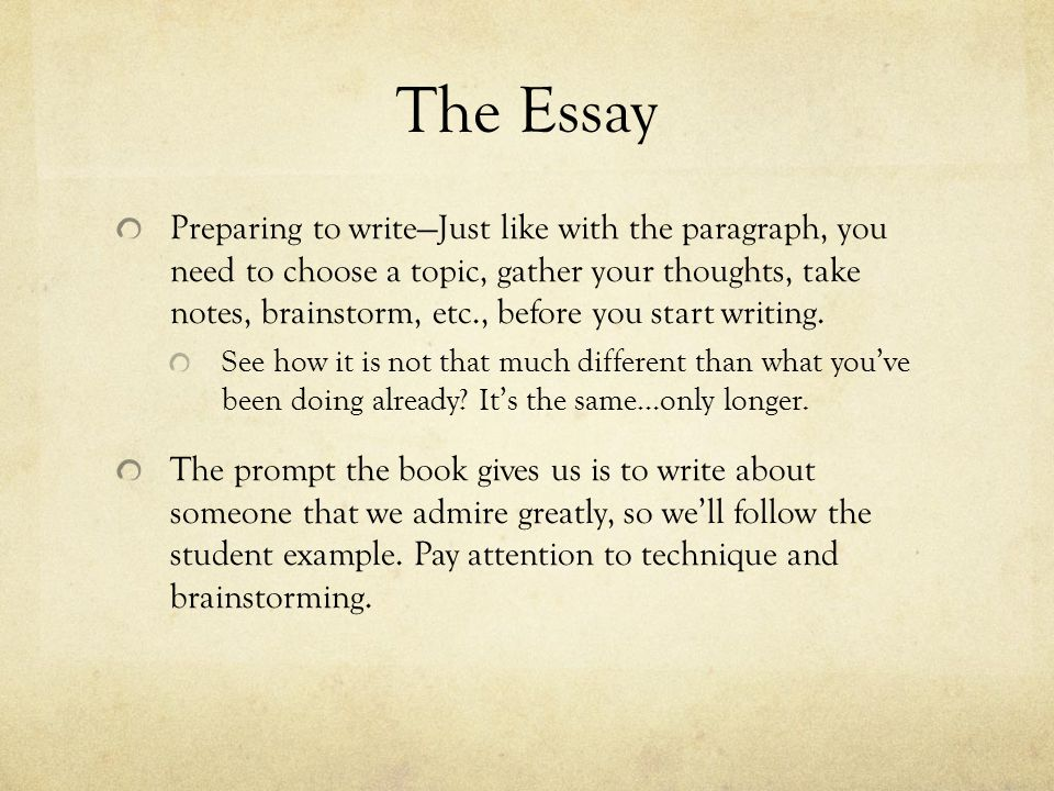 someone i admire essay Great collection of paper writing guides and free samples ask our experts to get writing help submit your essay for analysis.