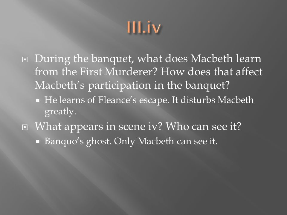 Macbeth Act 1, scene 5 Analysis.