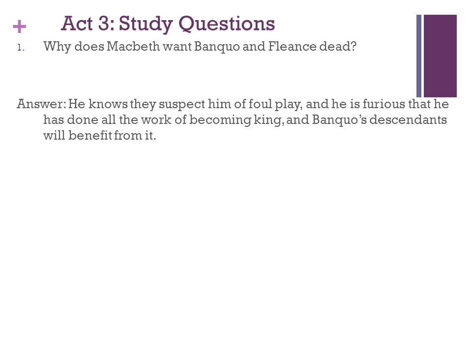banquo and fleance relationship questions
