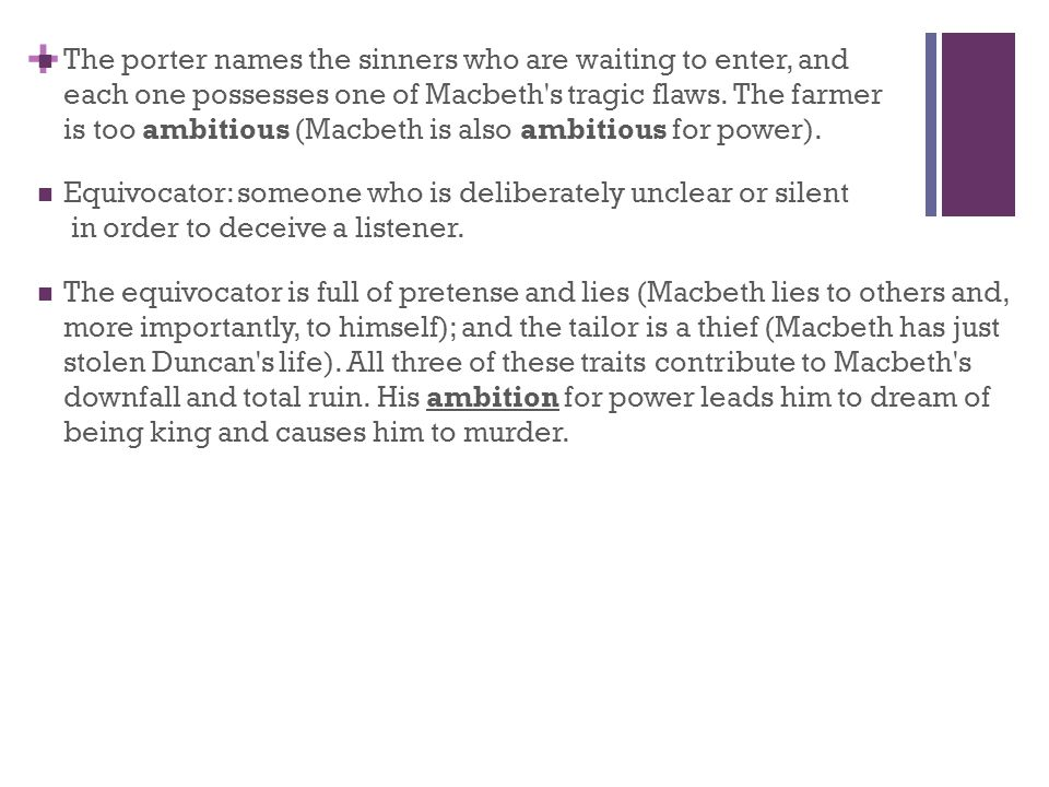 macbeth causes his own downfall While the opposition is led by macbeth^s troubled conscience, his own internal conflict and his hamartia it is clearly visible that macbeth^s own character is at fault for his tragic downfall it is the opinion of many, that macbeth is a victim of fate.