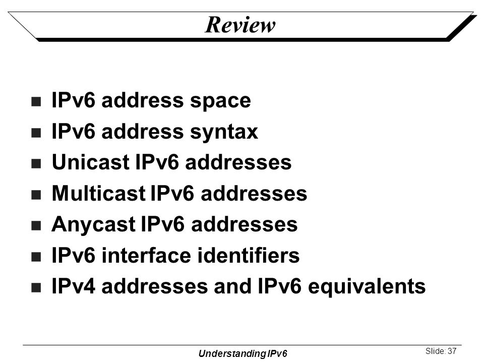 ipv6 address type multicast Ipv6 multicast addresses flags  type=130 code=0 multicast address = 0 032 63 v=6 flow label = 0 tclass=0  multicast in ipv6 author:.