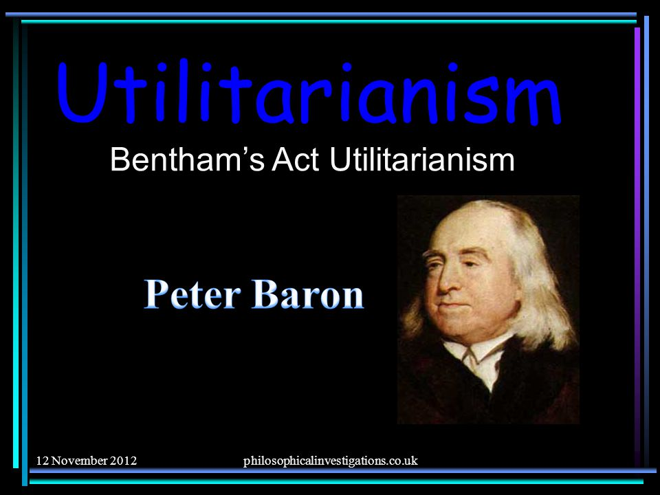 a comparison between bentham and mills theories of utilitarianism Ethics theories- utilitarianism vs deontological ethics utilitarianism and deontological ethics utilitarianism is a moral theory developed and refined in the modern world in the writings of jeremy bentham (1748-1832) and john stuart mill.