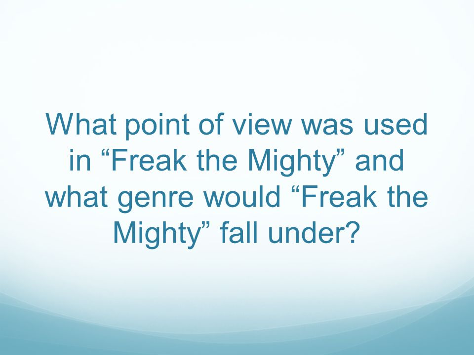 freak the mighty book pdf download