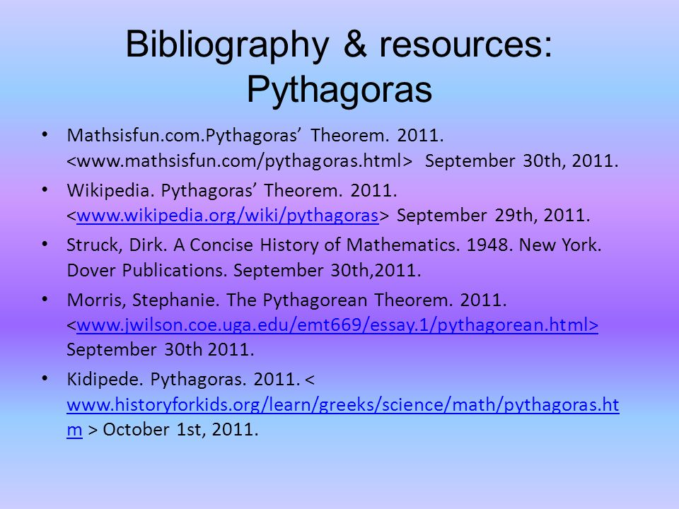 essay on mathematician pythagoras There is no mention of the pythagorean theorem some scholars who regard pythagoras as a mathematician and rational in essays in ancient greek.