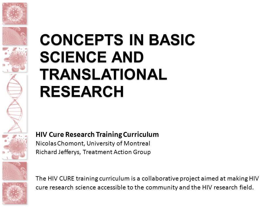 hiv research project