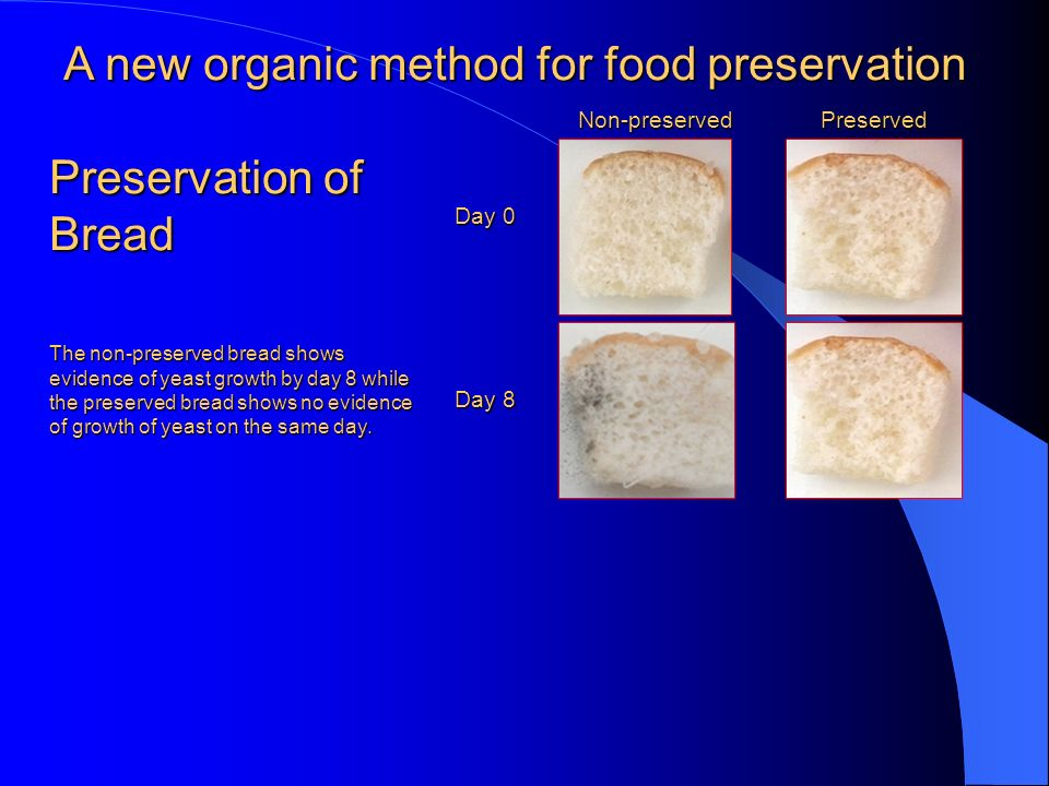 New Preservation Technology Of Food Ppt