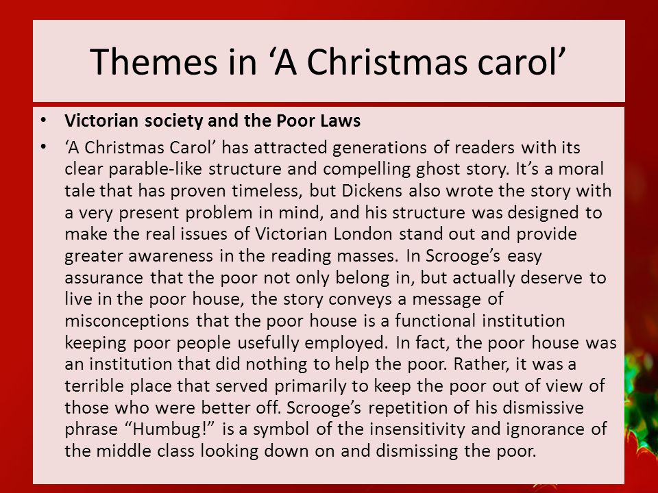 christmas carol and household words essay