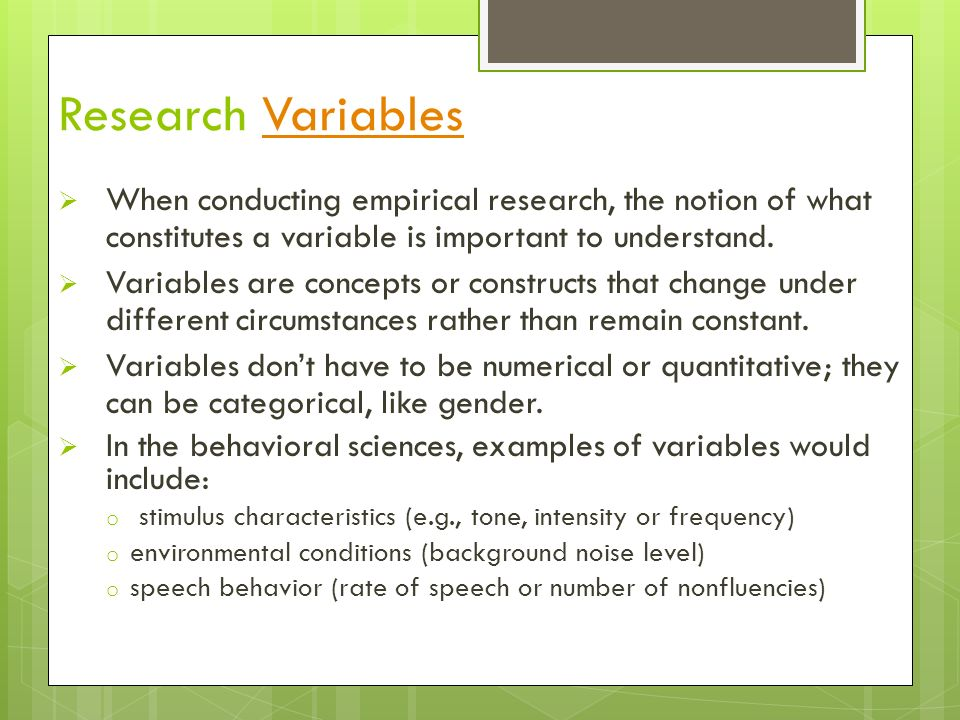 Research Variables: Dependent, Independent ... - Study.com