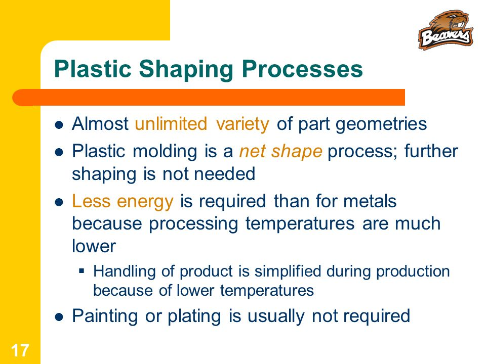Plastic Shaping Processes