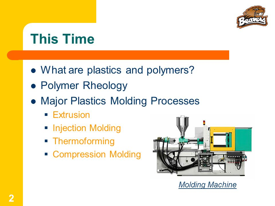 This Time What are plastics and polymers Polymer Rheology