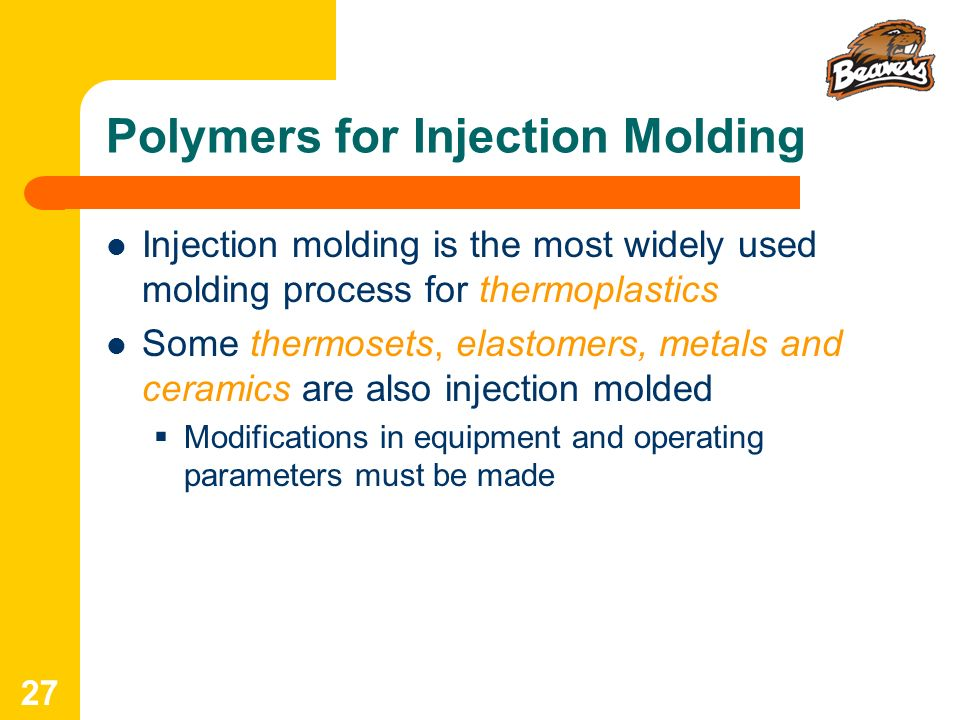 Polymers for Injection Molding