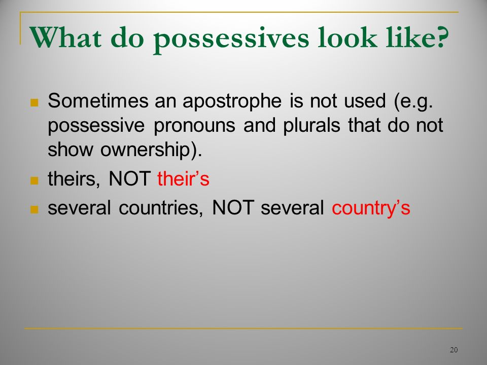 SCUA The Society for the Correct Use of the Apostrophe - ppt download