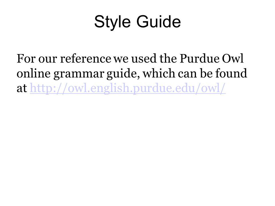 owl english grammar