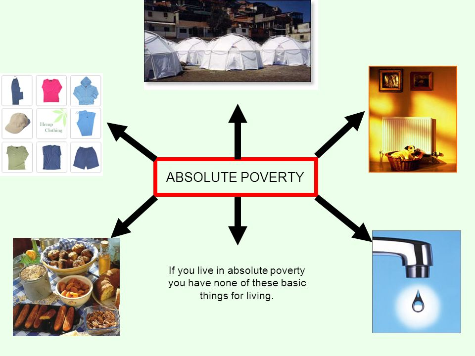 "should poverty be defined in absolute Factsheet: what is poverty the term ""absolute poverty"" generally refers to a here poverty is defined by a lack of access to food and shelter as."