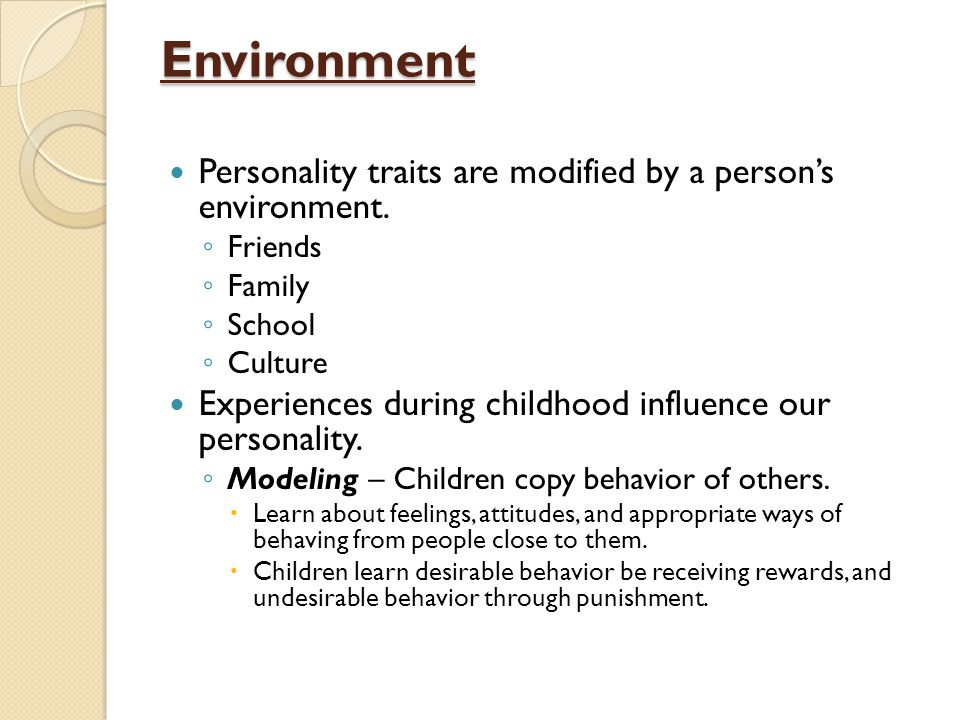 environmental traits - photo #9