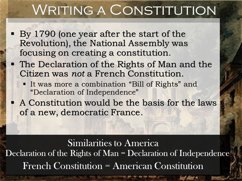 an analysis of the american and french bill of rights This lesson reviews the events leading to the bill of rights the thirteen american colonies officially declared the bill of rights: summary & analysis.