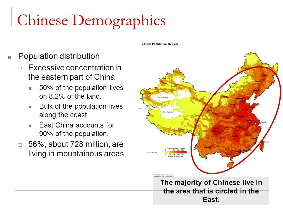population distribution in china essay In australia, 87% of our population lives in cities while in china it is closer to 30%   (population) movement in china like we have experienced in australia has.