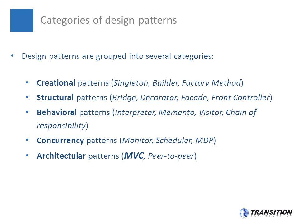 Design Patterns Mvc Singleton