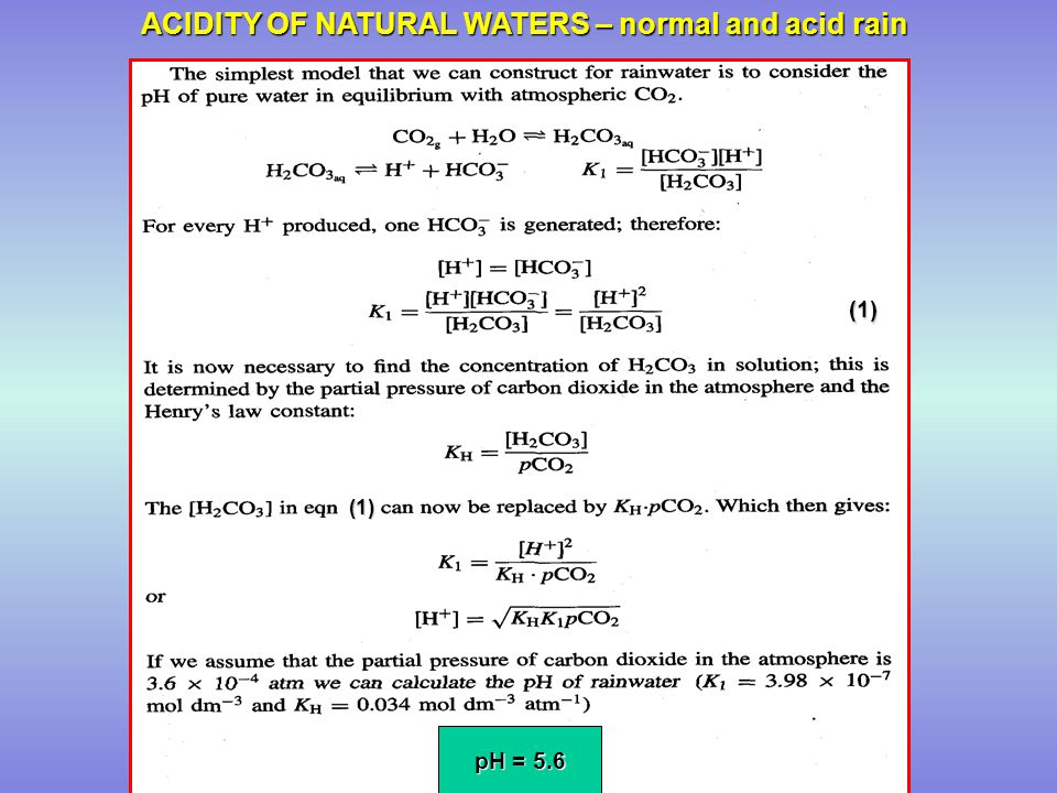 the chemistry of natural waters Read steady‐state concentrations of carbonate radicals in field waters, environmental toxicology & chemistry  of natural waters containing n,n.