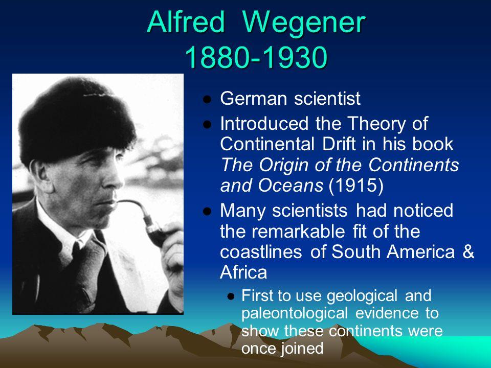 alfred wegener continental drift theory continental drift