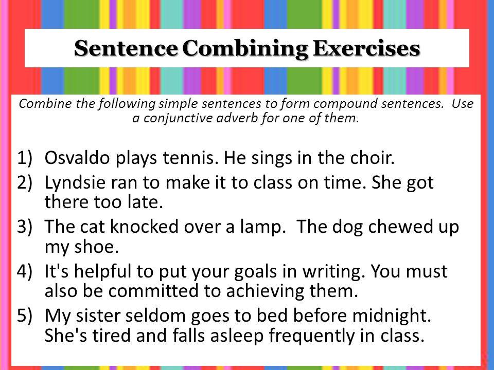 Grammar Mini Lesson Compound Sentences Ppt Video Online