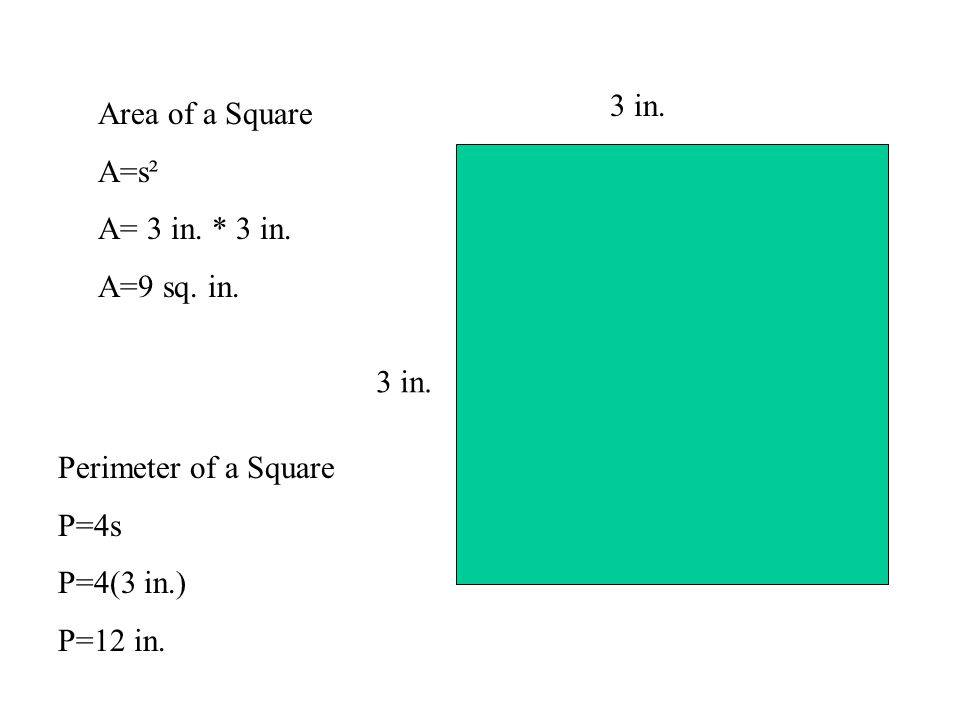 area and perimeter formulas pdf