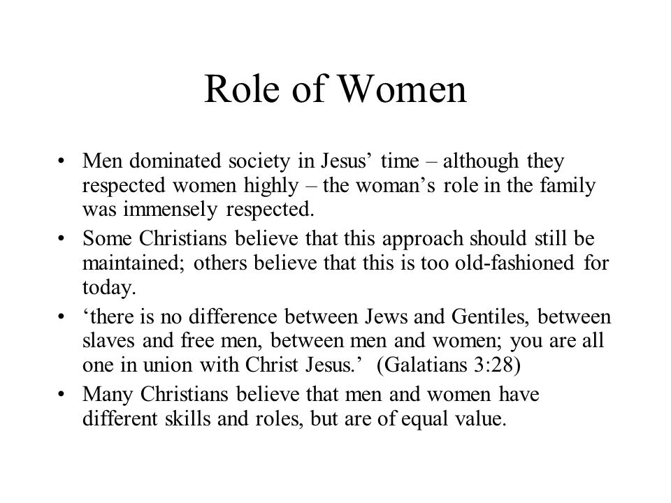 "the differences between the male and female roles in the society Male and female differences in conflict 7 formed by society: ""the psychological explanations were often regarded as implying that the two sexes possessed natural abilities fitting them for traditional roles, whereas the content for."